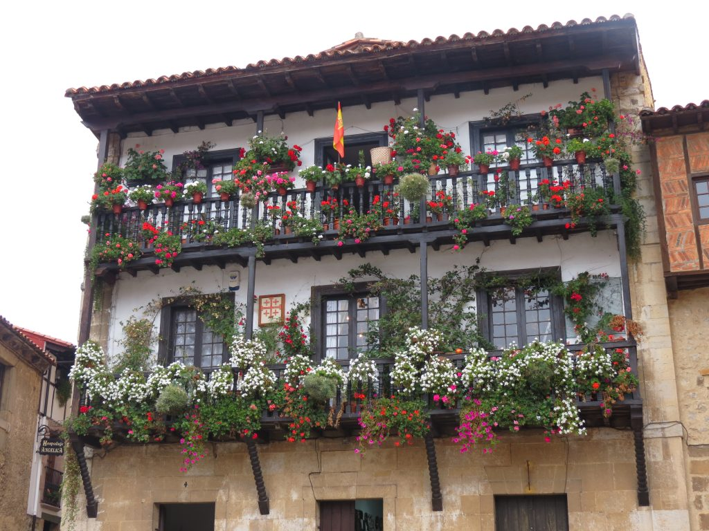 Beautiful old building in Santillana del Mar