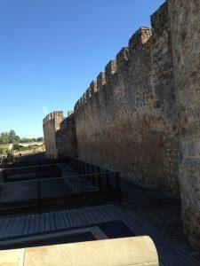 Ancient city wall Burgo de Osma