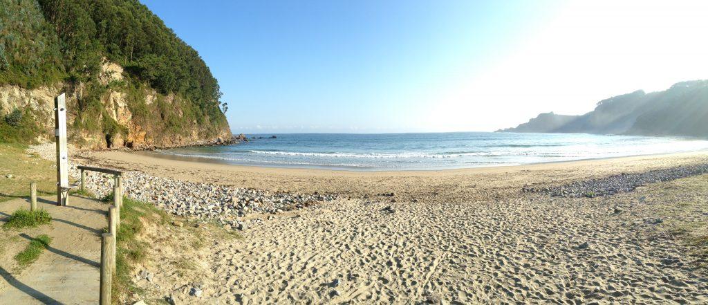 Beautiful beach at San Pedro de la Ribera