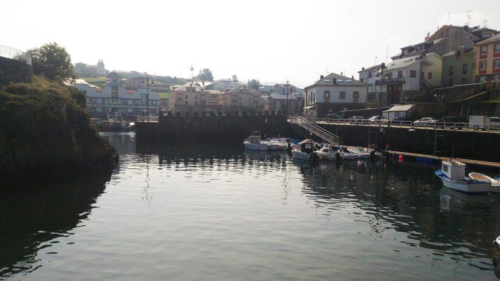Puerto de Vega fishing village