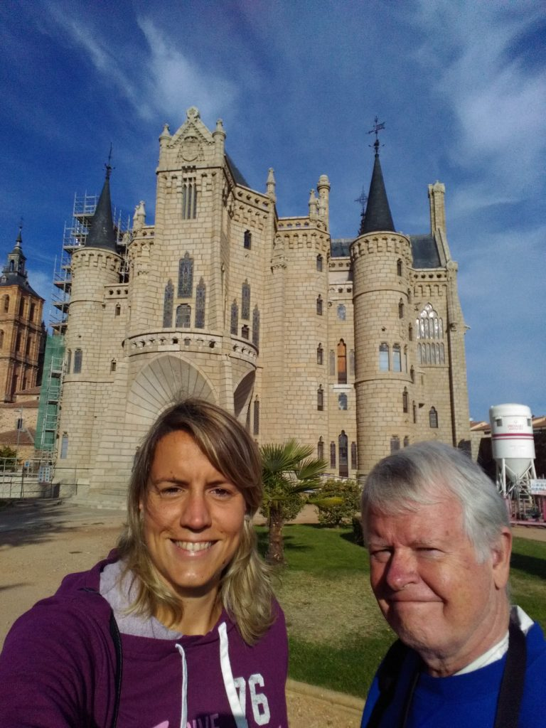 Gaudi's Episcopal Palace in Astorga