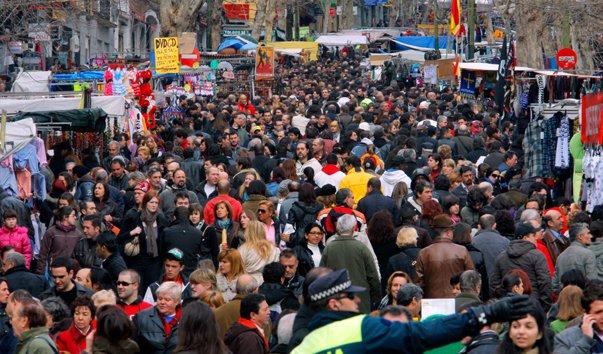 Madrid's Sunday Flea Market (not my photo)
