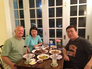 Dinner with Jessie & Frank at Beaulieu House