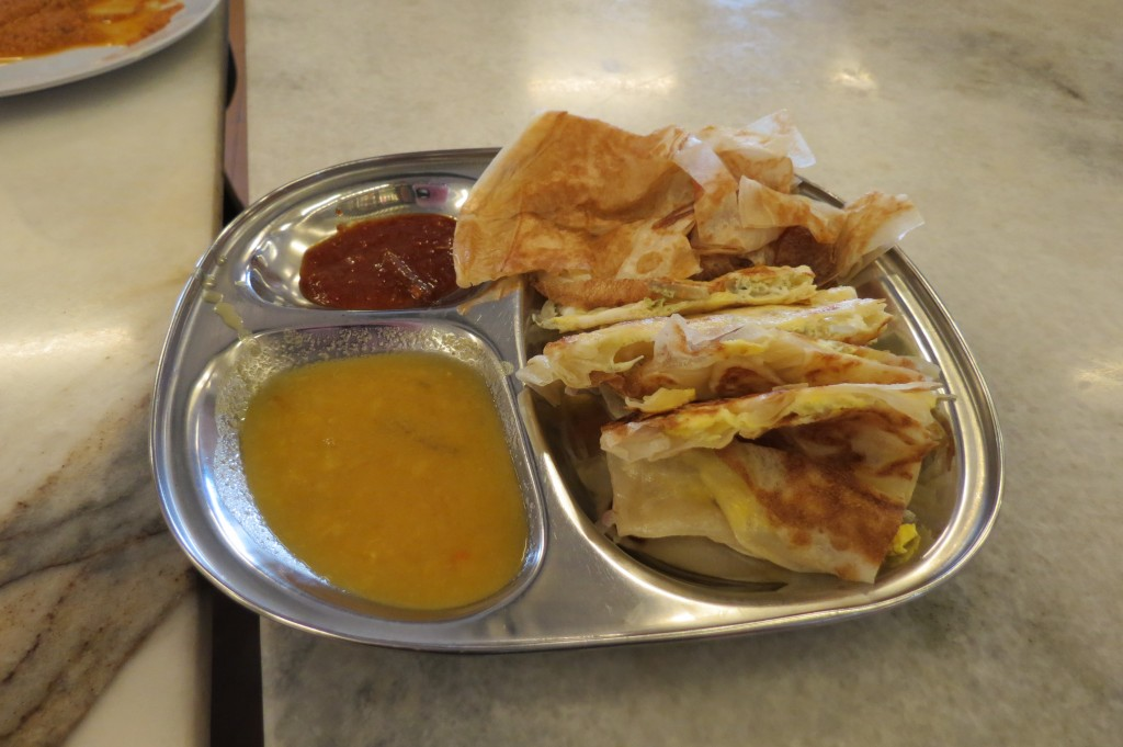 Local's Breakfast: Roti Kaya with Sweet and Hot Sauces