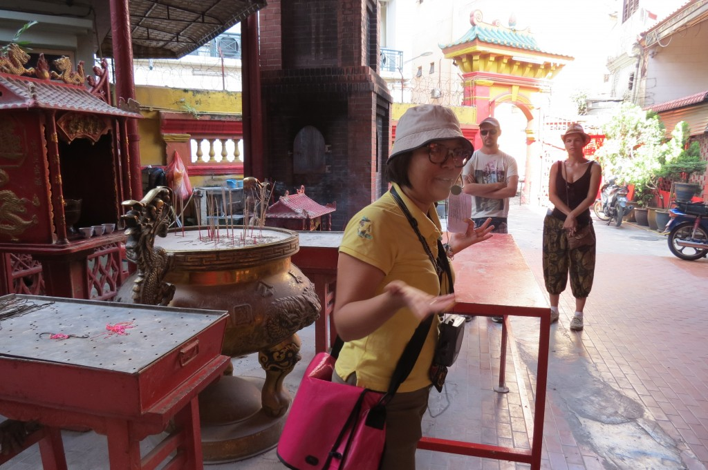 Our Excellent Tour Guide, Erina, Tells Us About Taoist Temple