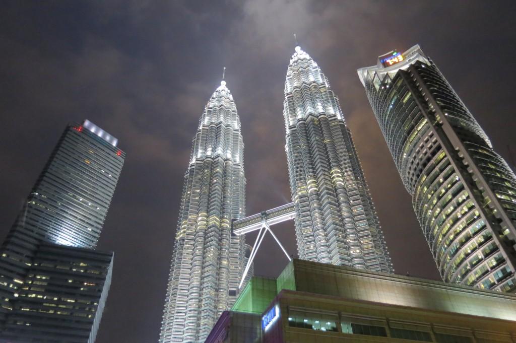 Beautiful Petronas Towers at Night