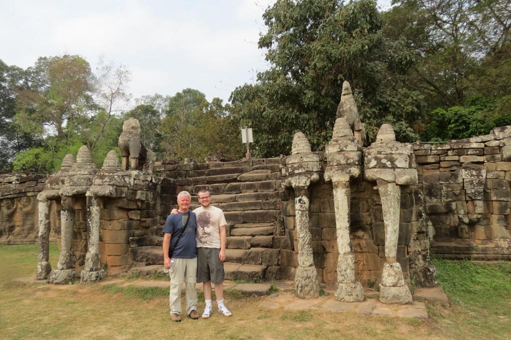 The Terrace of the Elephants, Angkor Thom