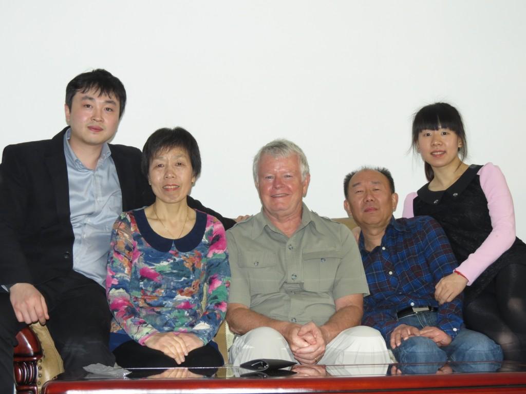 Shan Shan,, Lisa's Mother, John, Lisa's Father and Lisa