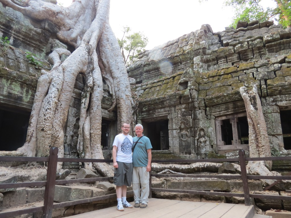 Ta Phrom Temple: Nature Overtakes Man's Creations