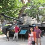 Captured Army Tank