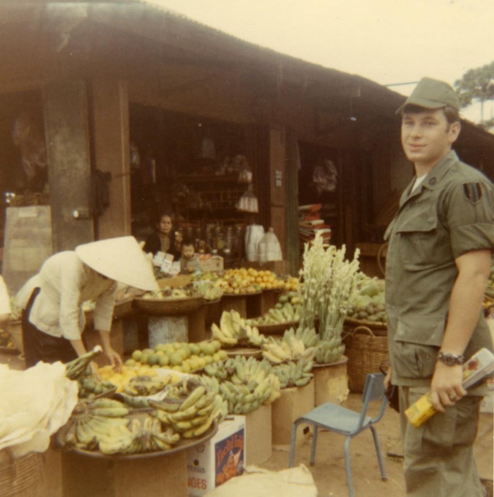 My friend Les Spradlin in Pleiku Village
