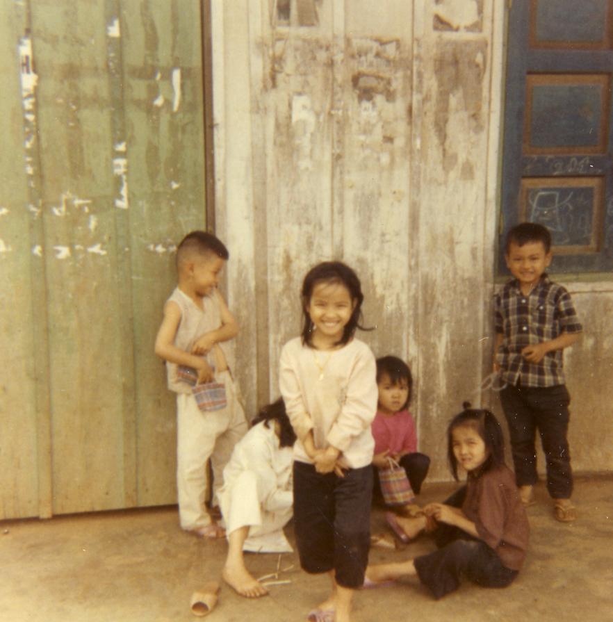Children in Pleiku Village