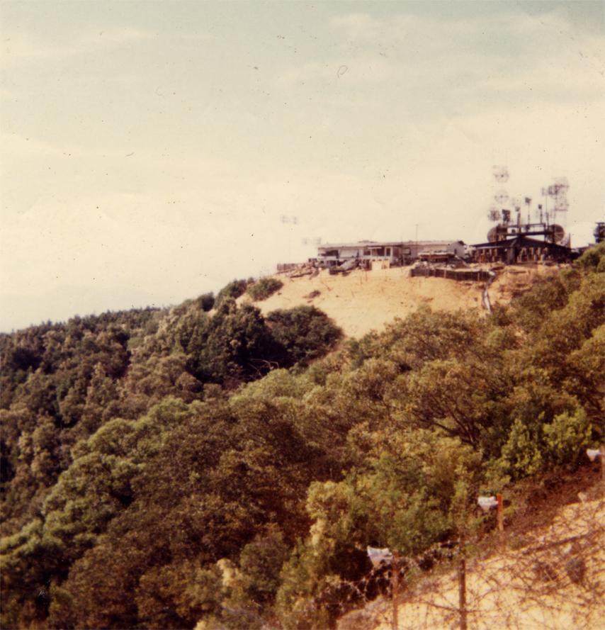 Signal Corps Site at Vung Chau Moutain, QhiNhon, 1969